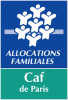 CAF DE PARIS LOGO